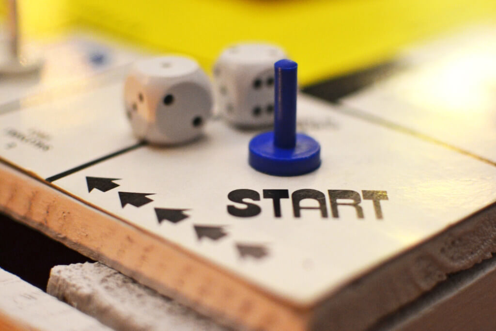 Start board game